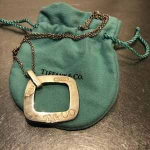 Tiffany & Co. Cushioned Square Necklace